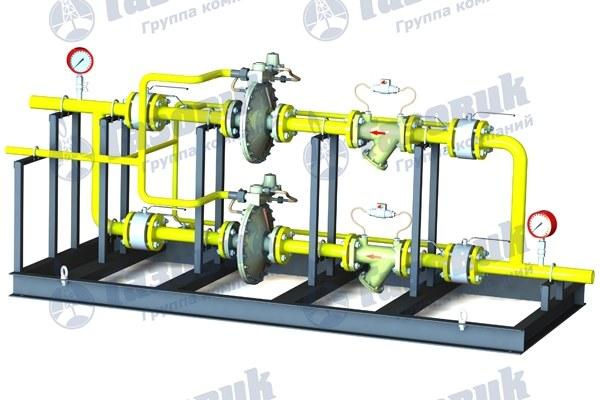 Установка газорегуляторная ГРУ-50Н-2, ГРУ-50В-2