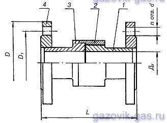 Соединения изолирующие СИ-65ф