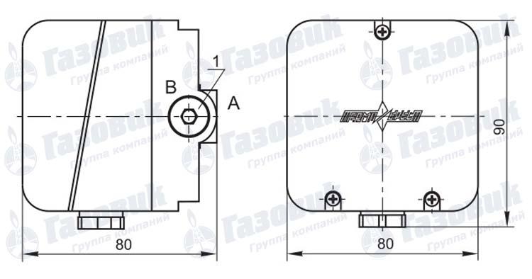 Датчики-реле давления серии ДРД-Н, ДРД-Т