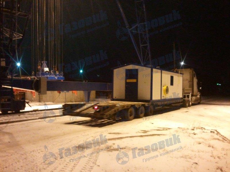 Пункт газорегуляторный блочный ПГБ-35-ОГ-У1-СГ
