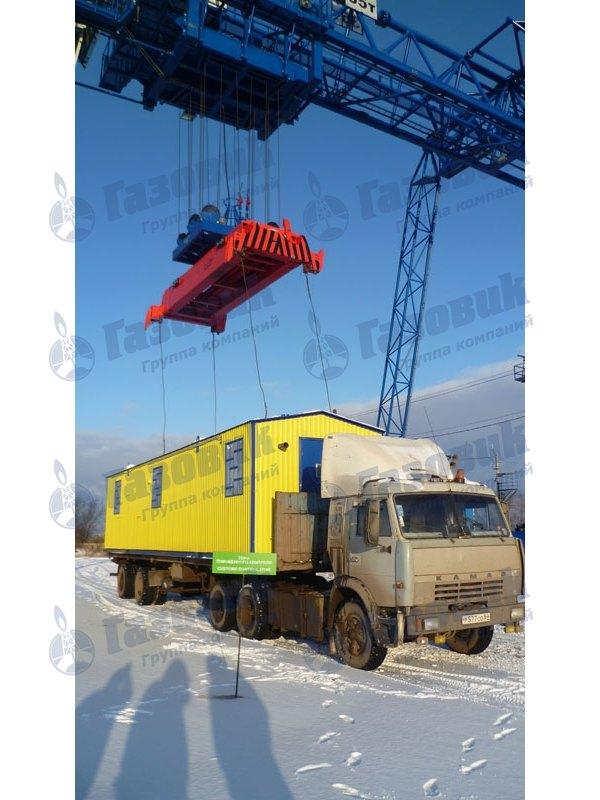 Пункт газорегуляторный блочный ПГБ-15-2в-у1