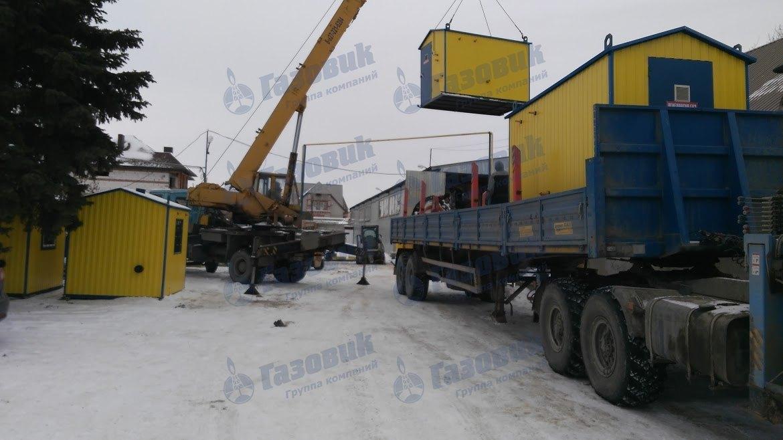 Отгрузка ПГБ в Челябинск